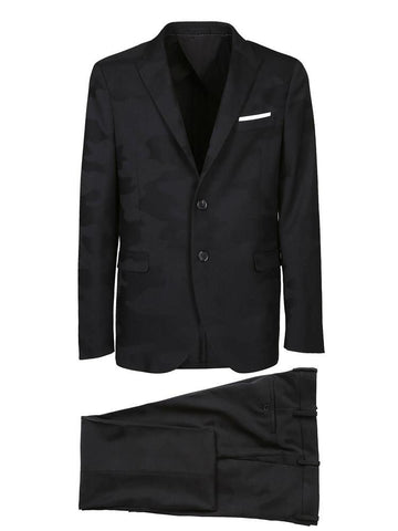 Neil Barrett Fitted Suit
