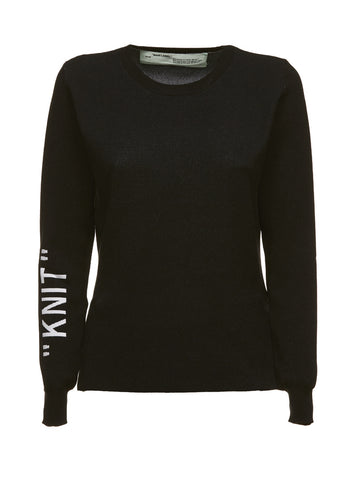 "Off-White ""Knit"" Jumper"