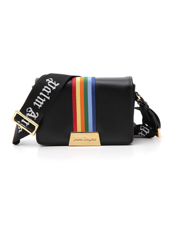 Palm Angels Logo Rainbow Band Crossbody Bag