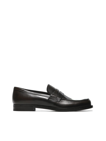 Prada Classic Penny Slot Loafers