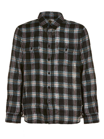 Saint Laurent Check Print Shirt