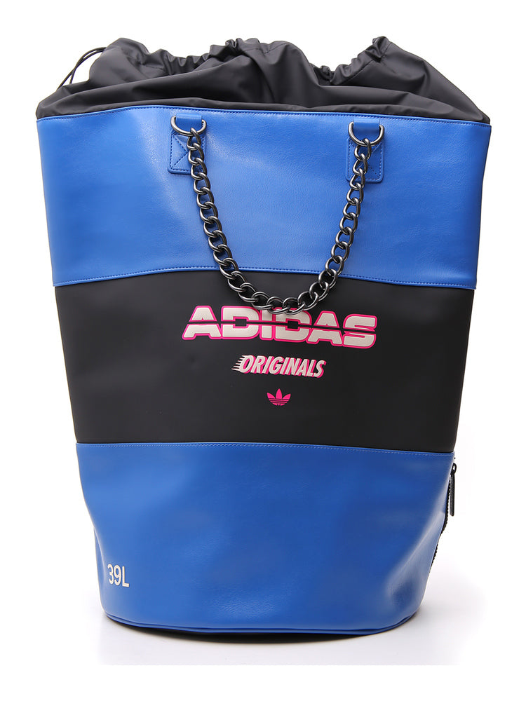 Adidas Large Bucket Backpack in Blue
