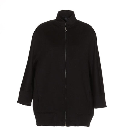 Alberto Biani Oversized Zip Up Jacket