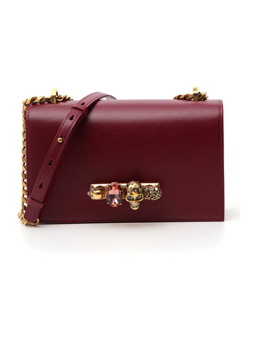 Alexander McQueen Knuckle Ring Chain Bag
