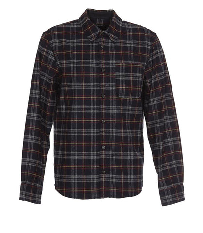 A.P.C. Checked Collared Shirt