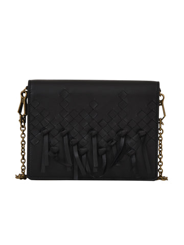 Bottega Veneta Fringed Crossbody Bag
