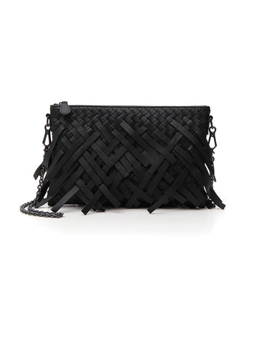 Bottega Veneta Fringed Shoulder Bag