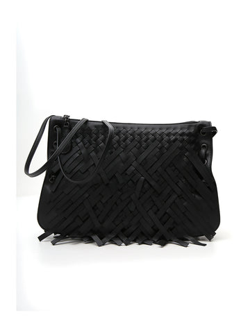 Bottega Veneta Fringe Crossbody Bag