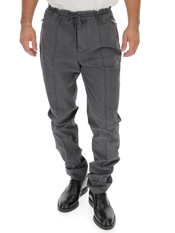 Brunello Cucinelli Drawstring Tailored Trousers