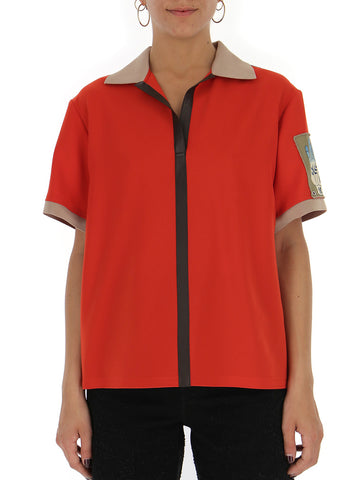 Chloé Logo Patch T-Shirt