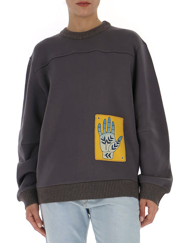 Chloé Hand Patch Sweatshirt