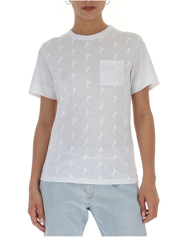 Chloé Embroidered Horse T-Shirt