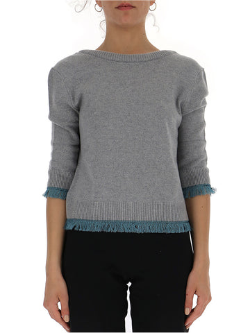 Chloé Contrast Trim Sweater