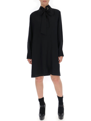 Chloé Long Bow Long Sleeves Dress