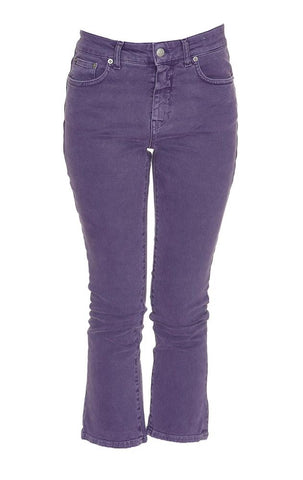 Department 5 Cropped Flared Jeans
