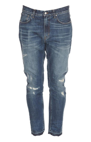 Department 5 Distressed Slim Fit Jeans