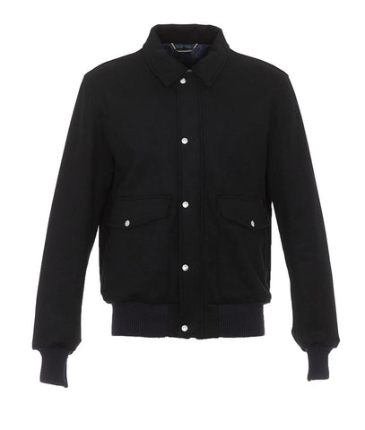 Department 5 Buttoned Bomber Jacket