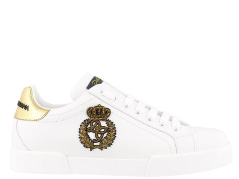 Dolce & Gabbana London Crown Logo Sneakers