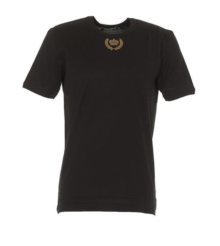 Dolce & Gabbana Beaded Logo T-Shirt