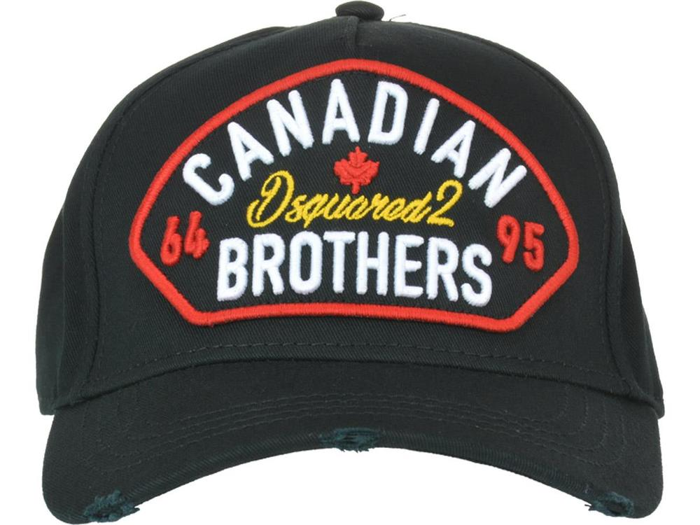 6f1a81a328af3 Dsquared2 Canadian Brothers Baseball Cap – Cettire