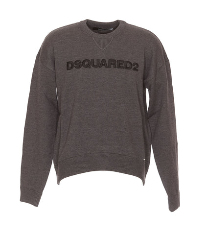 Dsquared2 Logo Knitted Sweater