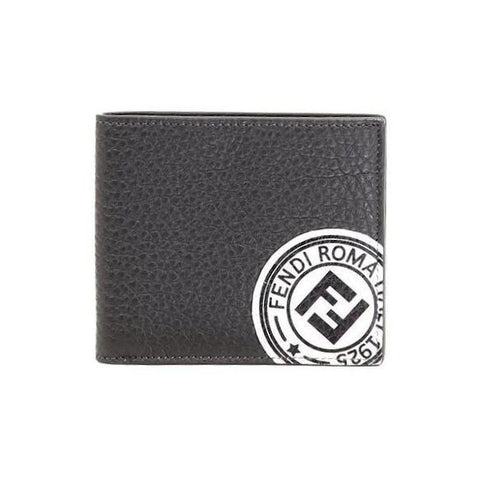 Fendi Logo Stamp Wallet
