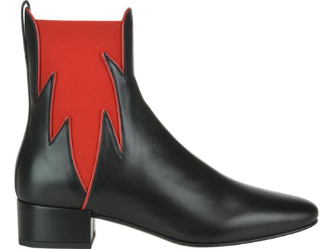 Francesco Russo Elasticated Side Ankle Boots