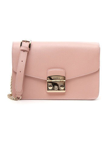 Furla Signature Metropolis Shoulder Bag