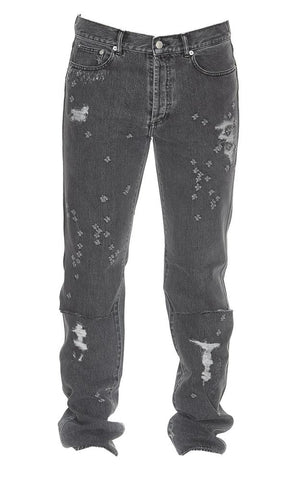 Givenchy Distressed Slim Fit Jeans