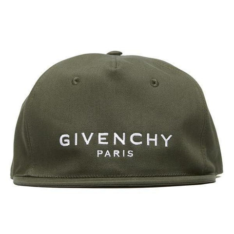 Givenchy Embroidered Brand Logo Baseball Cap