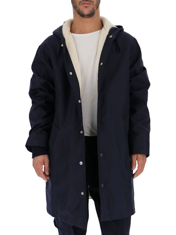 Golden Goose Deluxe Brand Straight Fit Button Raincoat