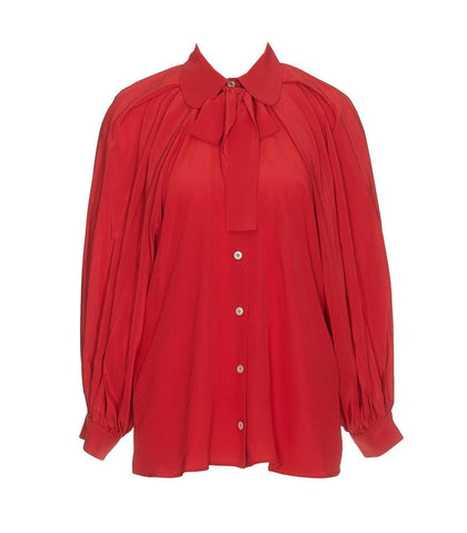 Gucci Neck Bow Blouse