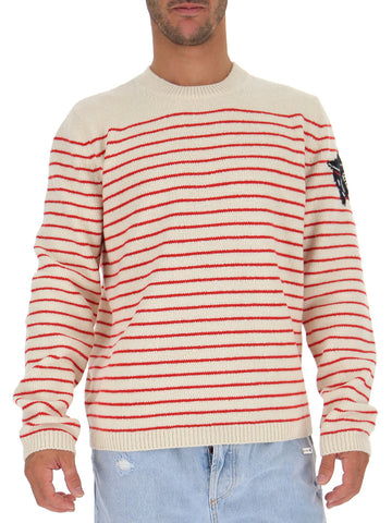 Gucci Panther Striped Jumper