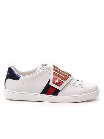Gucci Removable Patch Ace Sneakers