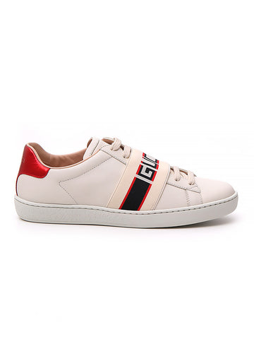 Gucci Striped Ace Sneakers