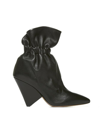Isabel Marant Ruffled Ankle Boots
