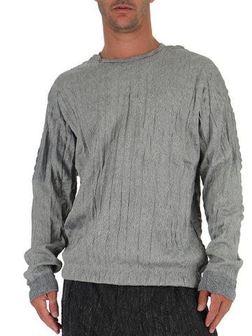 Issey Miyake Men Creased Long Sleeved Tee