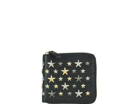 Jimmy Choo Lawrence Star Studded Wallet