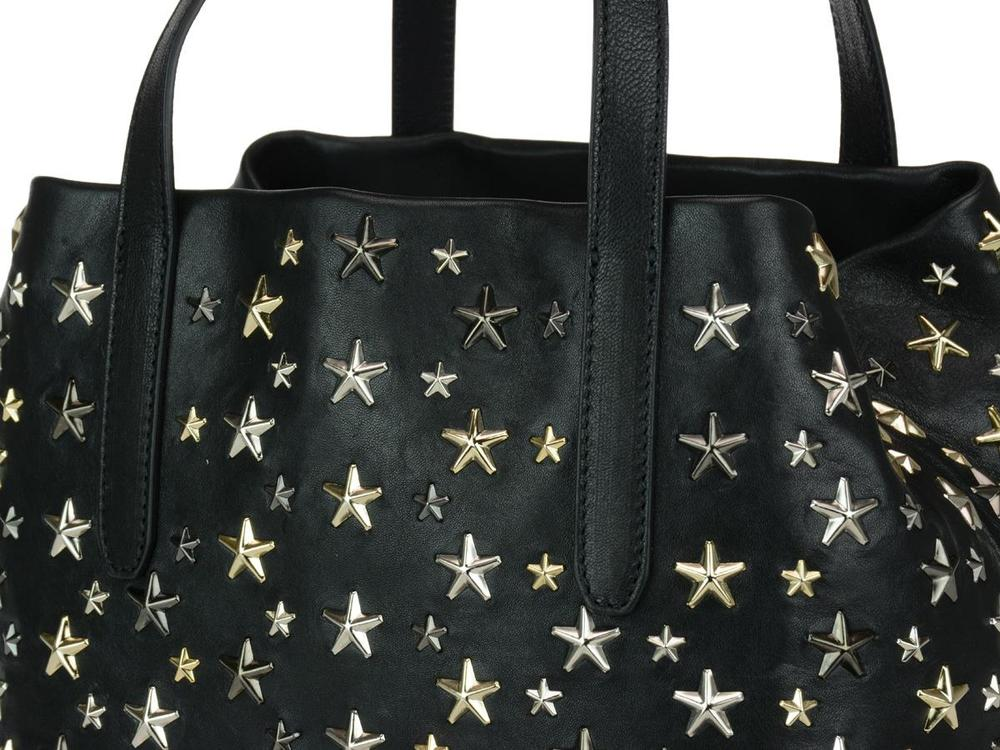 17d51d89a Jimmy Choo Sofia All-Over Star Studded Tote Bag – Cettire