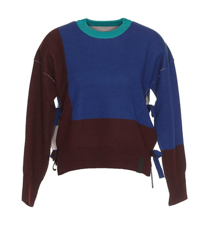 Kenzo Colour Block Crew Neck Sweater