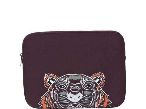 Kenzo Tiger Embroidered Laptop Case