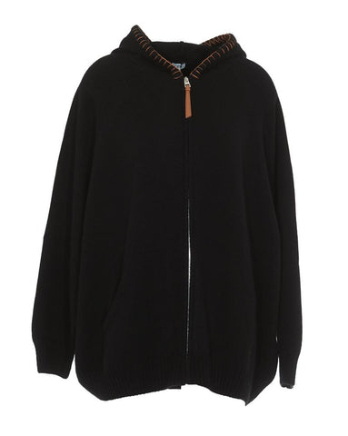 Loewe Hooded Cashmere Sweater