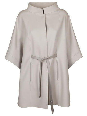 Loro Piana Belted Cashmere Poncho