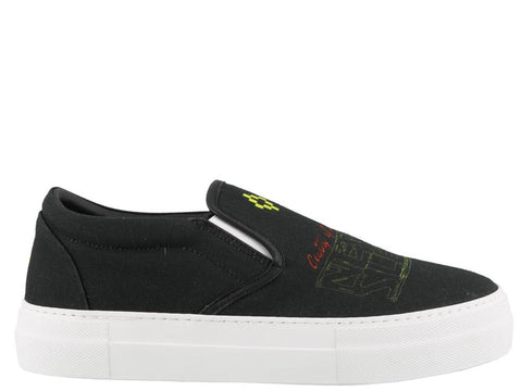 Marcelo Burlon County Of Milan Cat Slip On Sneakers