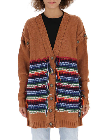 Marco De Vincenzo Button Knitted Cardigan