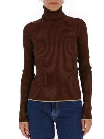 Marco De Vincenzo Turtle-Neck Knitted Jumper