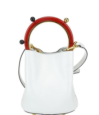 Marni Circular Handle Tote Bag