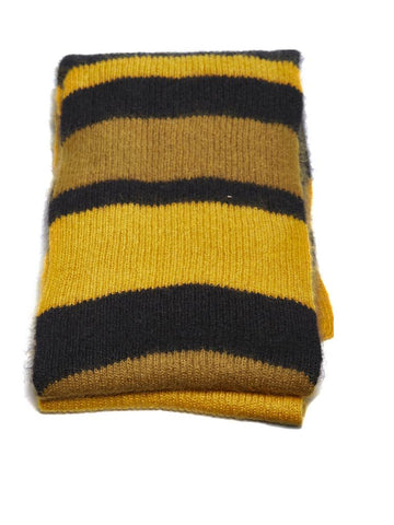 Marni Striped Ribbed Scarf