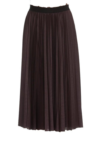 Max Mara Studio Pleated Midi Skirt