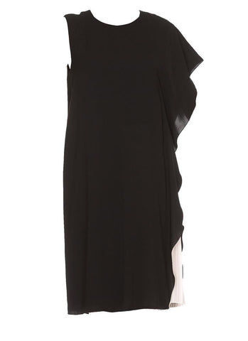 Max Mara Studio Ruffle Sleeveless Dress